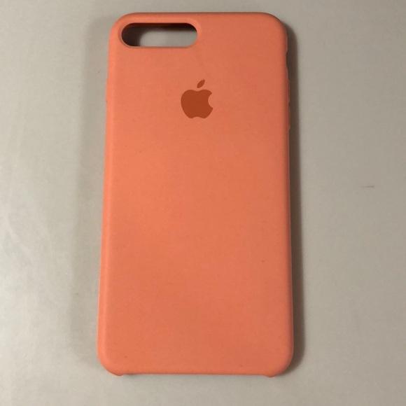 promo code 108be 2183c Apple iPhone 6, 7, & 8 Plus Peach Silicone Case